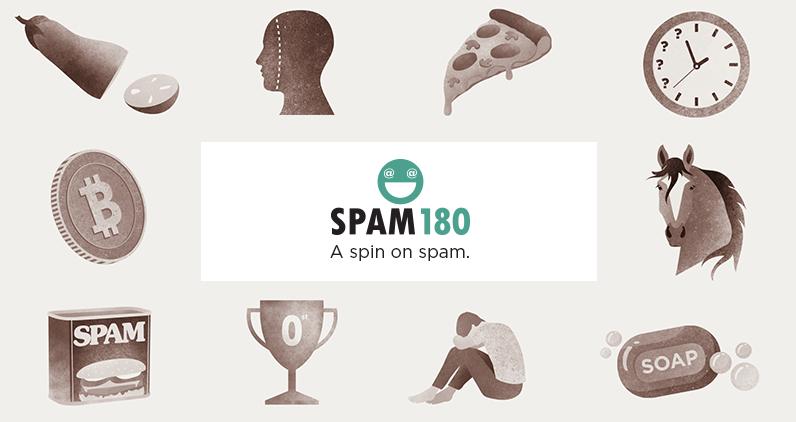 Spam180 logo